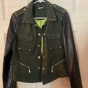 Juicy couture combat jacket